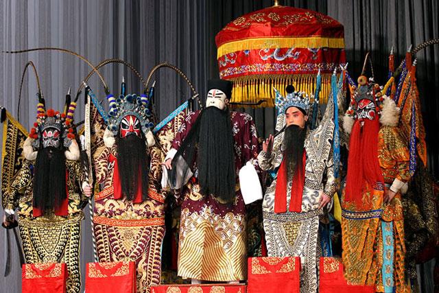 京剧《群英会》戏词