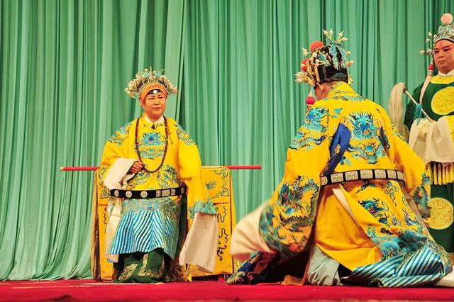 京剧《打龙袍》戏词